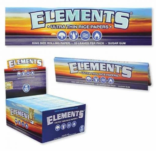 Cannabox Elements Rice Paper King Size