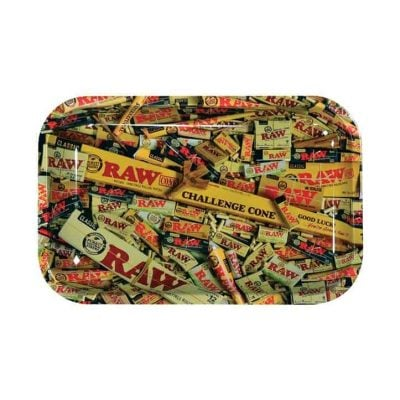 Cannabox Raw Mixed Rolling Tray Small