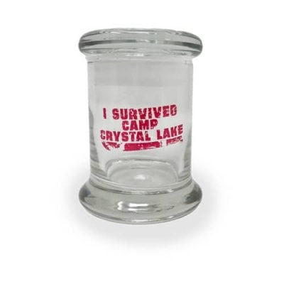 Cannabox October 2018 Camp Crystal Lake Jar